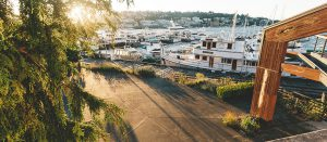 Dockside at Dukes Patio Area
