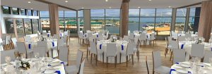 Dockside At Dukes Lake View with Dining Tables