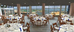Dockside At Dukes Indoor Dining Area