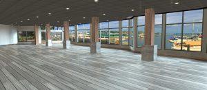 Dockside Venue Waterfront Open Concept