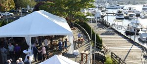 Outdoor Party At Dukes Dockside