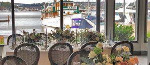 Wedding Reception Views At Dukes Dockside