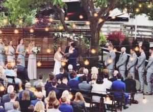 Dockside Wedding Ceremony Outdoor