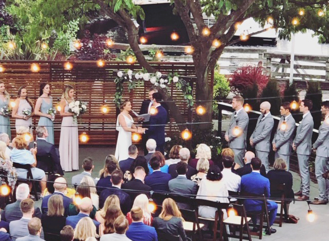 Dockside Wedding Ceremony Outdoor