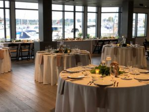 Dockside Table Layout for View Venue