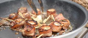Dockside Bacon-Wrapped Scallops