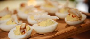 Dockside Deviled Eggs