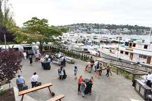 Dockside Outdoor Patio Lake View