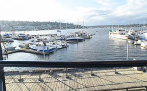 Dockside View Boats Lake Union