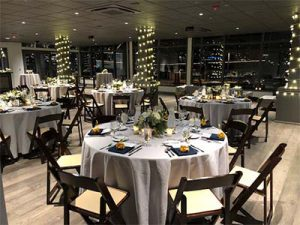 Dockside Holiday Dinner Setting