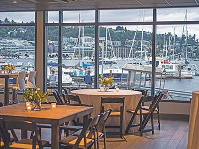 Dockside View Main Dining Area