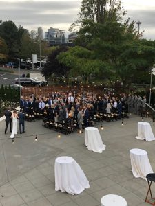Wedding Couple Outdoor View